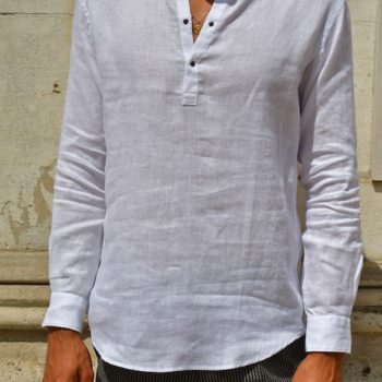 chemise messagerie lin blanc Revolt orléans