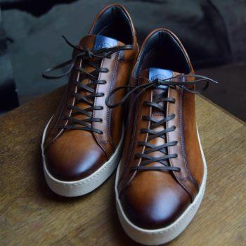 Giorgio sneakers patiné chestnut revolt orléans