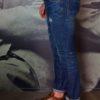 Jeans bleu manx délavé usé Messagerie Revolt Orléans