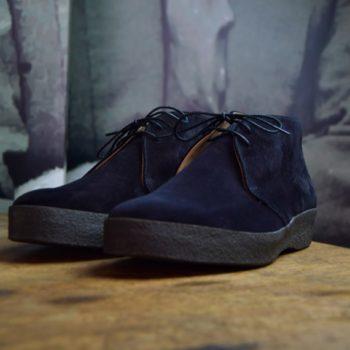 Sanders chukka boots veau velours noir revolt orléans