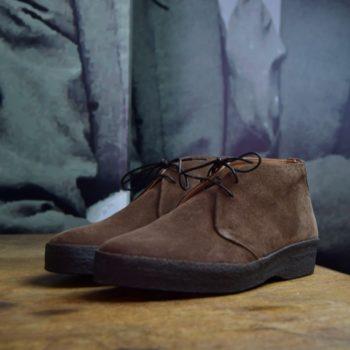 Sanders chukka boots veau velours marron revolt orléans