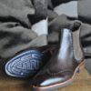 giorgio-boots-cuir-marron-fonce