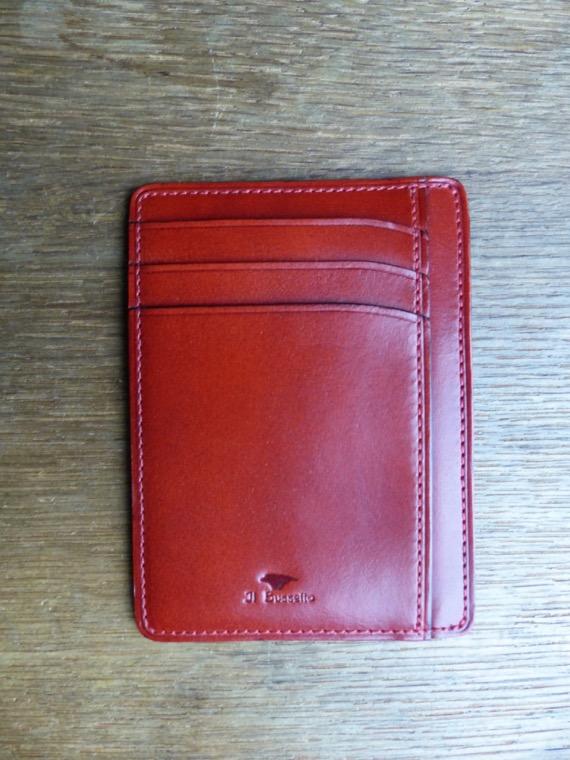 Il Bussetto porte cartes simple rouge revolt orleans