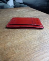 Il Bussetto porte cartes simple rouge 3