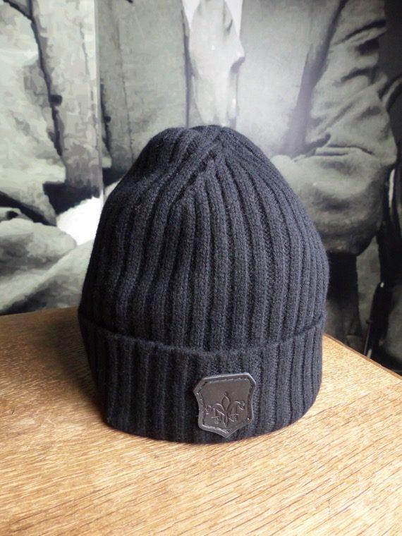 Mackage bonnet cachemire noir revolt orleans