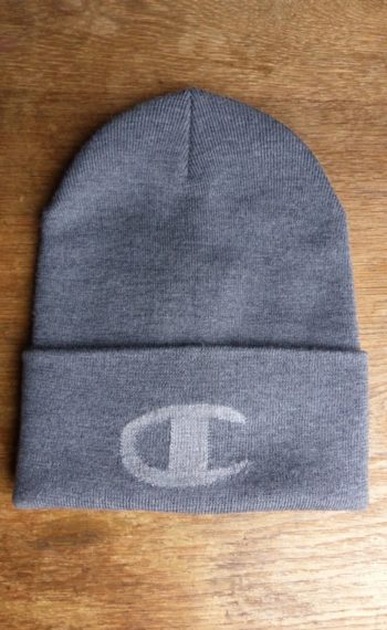 PPxChampion bonnet gris plat