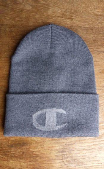 PPxChampion bonnet gris plat