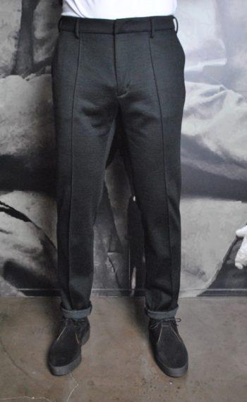 Paolo Pecora Jersey de laine noir revolt orleans