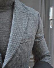 Paolo Pecora veste pdp grise détail