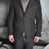 Messagerie Club Jacket tweed marron revolt orleans