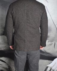 Messagerie Club Jacket tweed marron 4