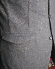 Messagerie Club Jacket tweed marron 5