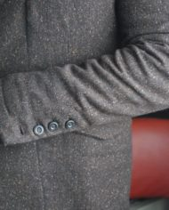 Messagerie Club Jacket tweed marron 6