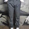 Paolo Pecora pantalon ceint cordon gris revolt orleans