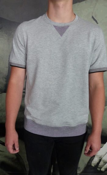 Paolo Pecora t-shirt sweat gris revolt orleans