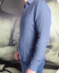 messagerie chemise lin bleu  revolt orleans