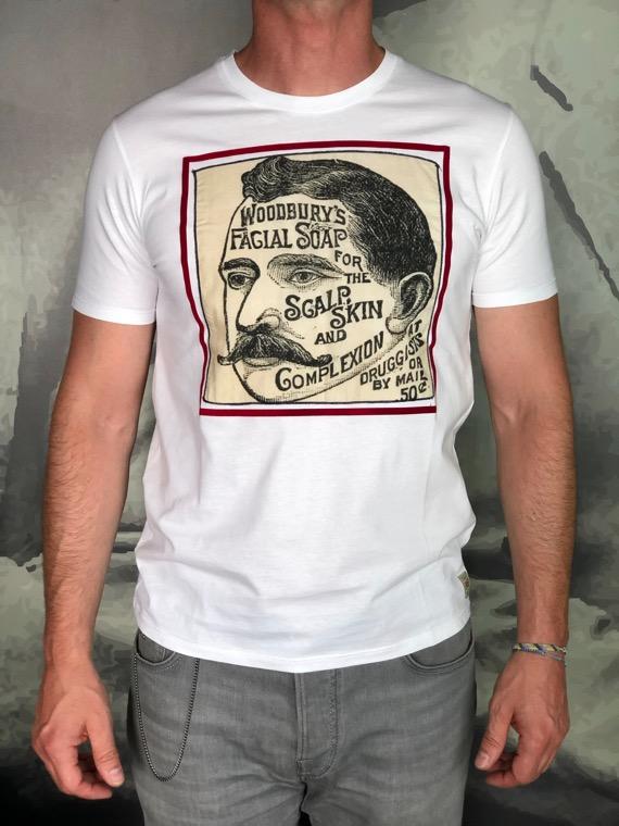 BOB t-shirt rétro blanc Revolt orléans