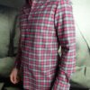 Aglini chemise flanelle de coton carreaux revolt orleans