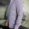 Aglini chemise losange navy revolt orleans