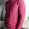 Paolo Pecora pull col rond framboise revolt orleans