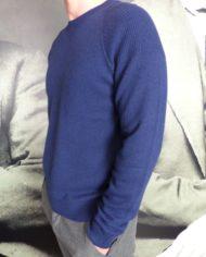 Paolo Pecora Pull col rond bleu revolt orleans