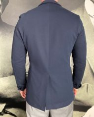 Paolo Pecora vest en coton navy dos