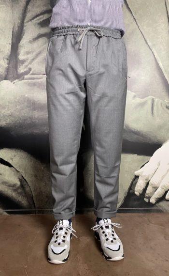 Tramarossa pantalon jog gris revolt orleans