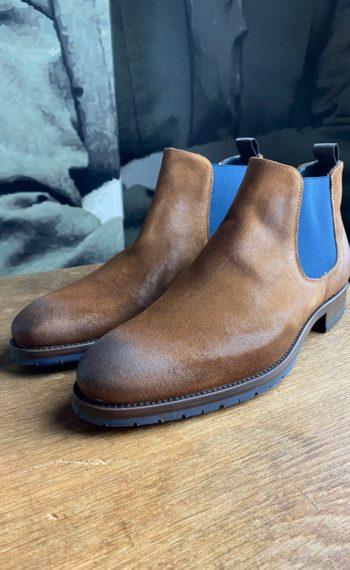 Giorgio boots veau velours marron revolt orleans