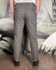 Berwich pantalon pdg gris dos