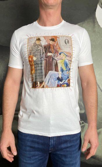 BoB t-shirts gentlemen blanc revolt orleans