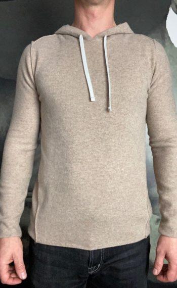 Paolo Pecora hoodie laine beige revolt orleans