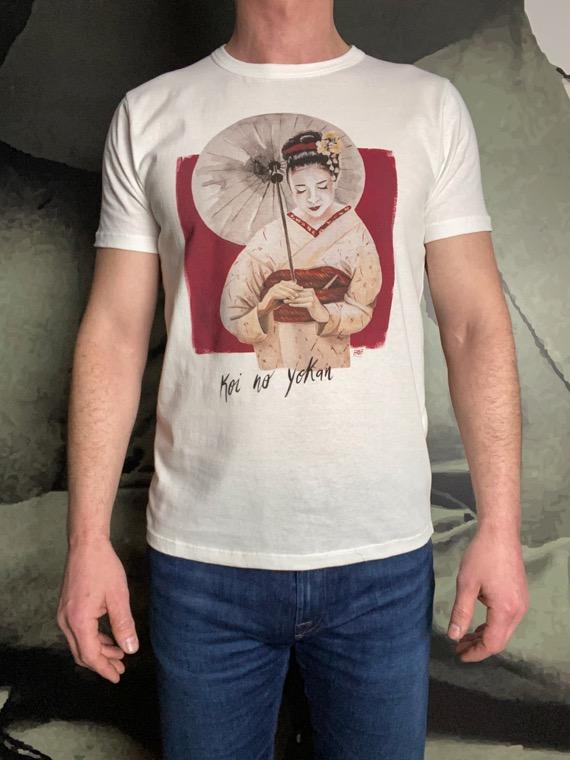 BoB t-shirt Japonaise écru revolt orleans