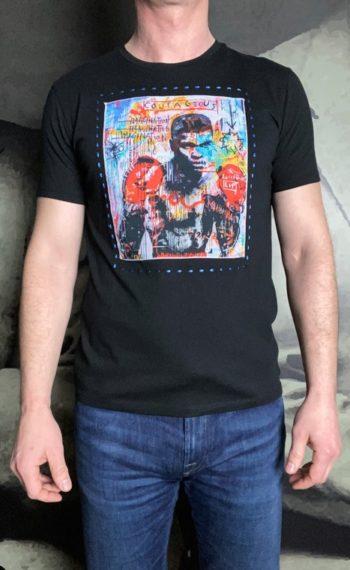 BoB t-shirt noir boxeur revolt orleans