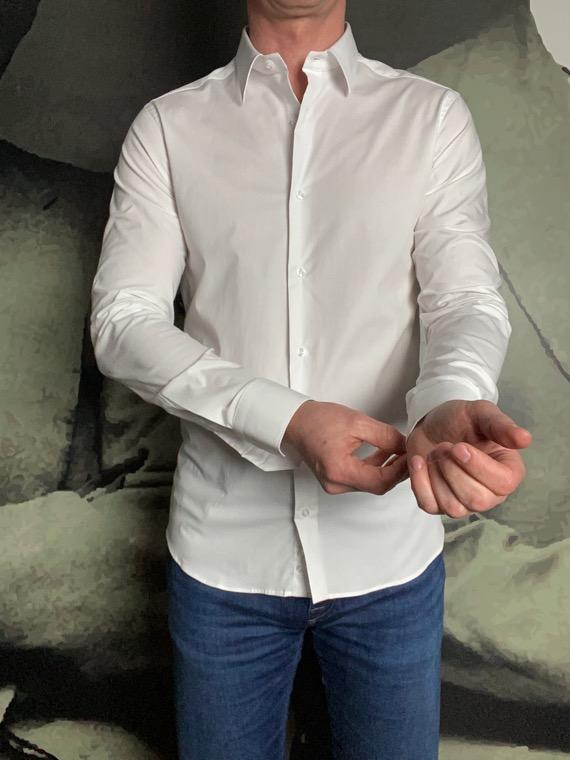 Paolo Pecora chemise blanche revolt orleans