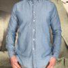 Bagutta chemise jeans revolt orleans