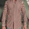 Bagutta chemise à rayures batons revolt orleans
