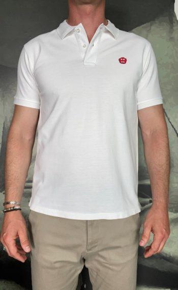 Aspesi Polo kinky atoms blanc revolt orleans