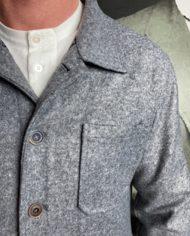 Bob veste atelier grise détail